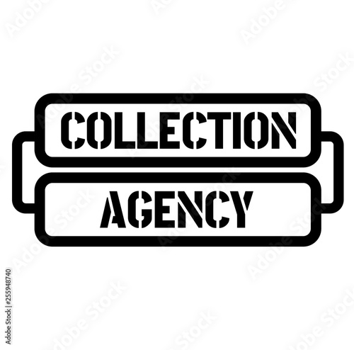 Fotografering  collection agency stamp