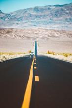 Classic Highway Scene In Death...