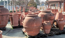 Warehouse Of Statues And Terracotta Garden Pots