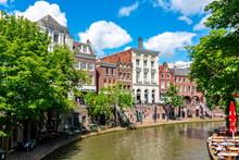 Utrecht Two-level Canals In Summer, Netherlands