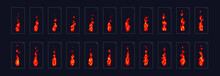 Fire Animation Sprite Sheet Or...