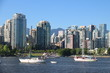Urban Vancouver view cityscapes downtown yaletown