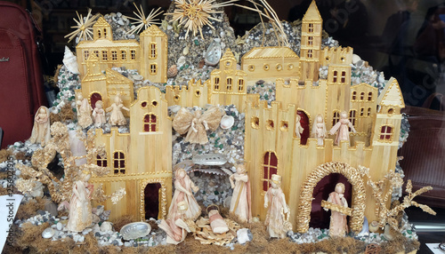 Fototapety, obrazy: Nativity Scene, birth of Jesus