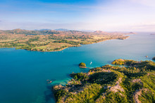 Aerial View Of The Amazing Coast Of Madagascar Islands