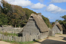 Plymouth Plantation Gristmill 17th-Century English Village