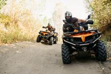 Two Quad Bike Riders Travels I...