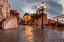 Taormina. Sicily. Piazza IX Ap...