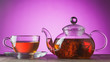 Leinwandbild Motiv Flower green tea