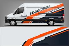 Van Wrap Design. Wrap, Sticker...