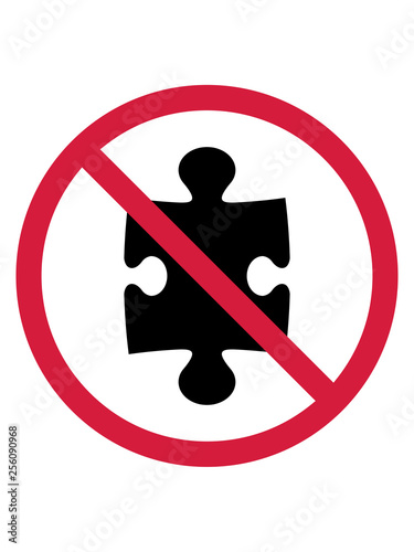 Fotografia  keine puzzle verboten schild zone liebe teil puzzlespiel puzzleteil puzzlestück