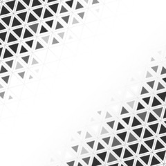 Ilustracja wzór geometryczny trójkąt