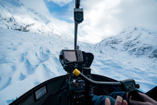 Anchorage Alaska In A Helicopter