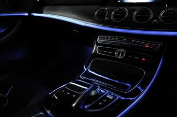 Luxury car interior MB