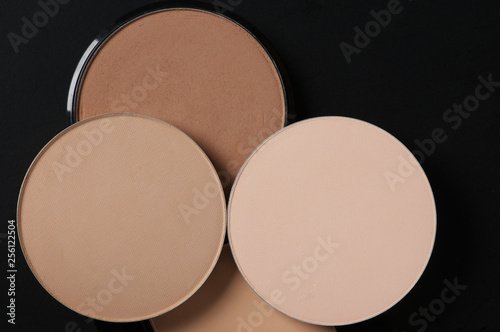 Obraz Compact face powder close-up - fototapety do salonu