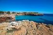 Mallorca beach at the day
