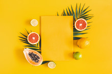 Summer Composition. Tropical P...