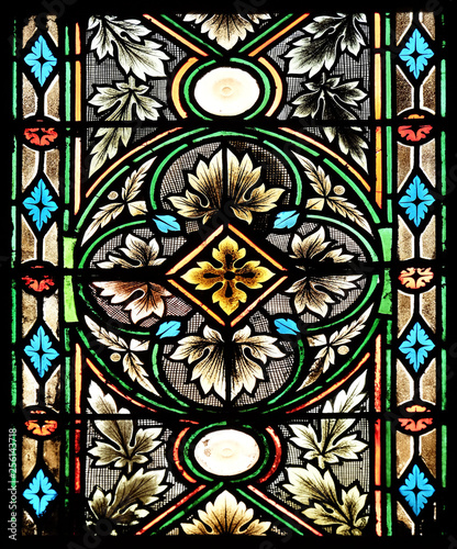 Cuadros en Lienzo  Stained glass in Zagreb cathedral