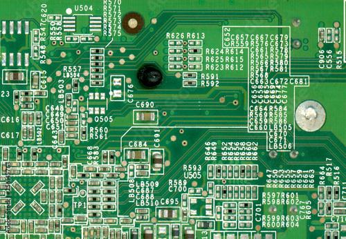 Fotografie, Obraz  printed circuit board