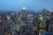 Manhattan depuis un gratte ciel