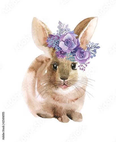Fotografia easter bunny watercolor