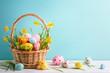 Leinwandbild Motiv Easter decoration