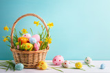 Fototapeta Coffie - Easter decoration