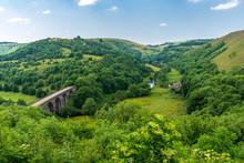 Peak District Landscape With T...