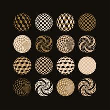Geometric Pattern Spheres Coll...