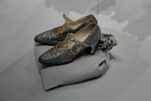 Retro Art Deco Women Shoes From The Early 20th Century