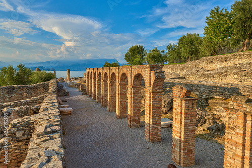 Valokuva  Grottoes of Catullus is the name given to the ruins of a Roman villa which was b