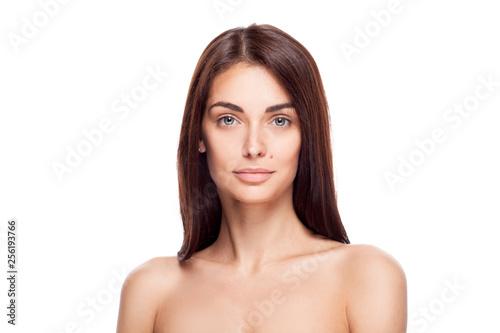 Beautiful brunette woman portrait Fototapeta