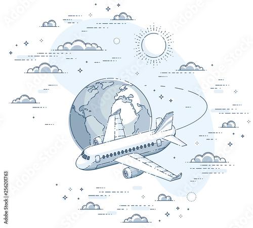 samolot-samolot-z-ziemska-planeta