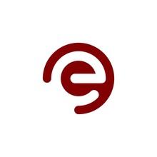 Initial Logo E Inside A Rounde...