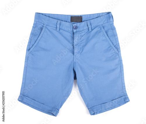Valokuvatapetti shorts isolated on white