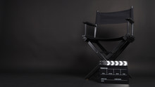 Clapper Board Or Movie Slate W...