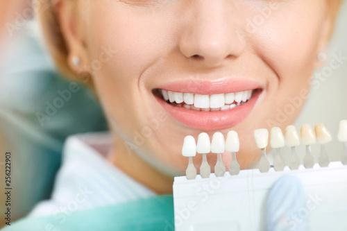 Photo  Teeth whitening dental clinic.