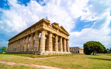 Paestum , Temple Of Neptune Or Hera II. Italy