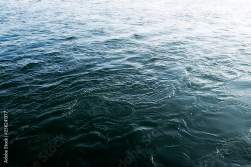 Fotografía  Water background. Abstract water background. River background.