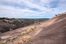 Rock Slope With A Tiny Grass S...