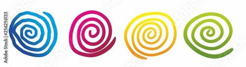 Spoed Fotobehang Spiraal spirale1903a