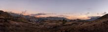 Beautiful Panoramic View Of Mountains Of Gran Canaria, Spain