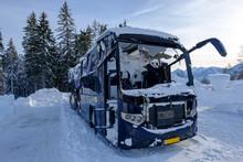 Austria, Styria, Bus Destroyed...