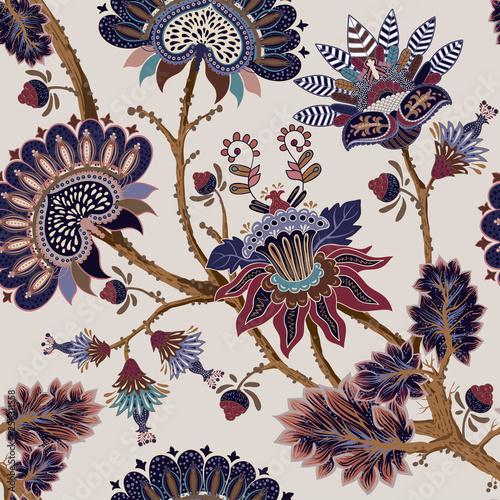Jacobean seamless pattern Fototapet