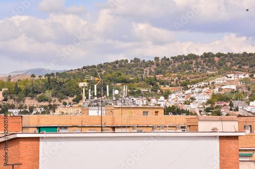 Foto  View of the Historical City Granada