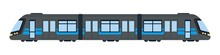 Subway Car Vector Flat Isolate...