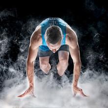 Start Position Of Sprinter, Fog