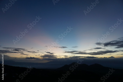 Foto  dawn sky landscape
