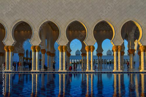Grand Mosque of Abu Dhabi, UAE