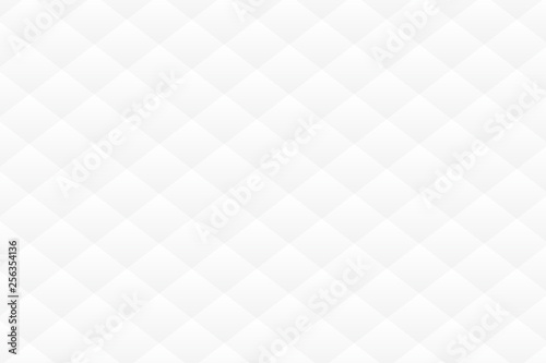 Fototapeta  white geometric texture. Vector background