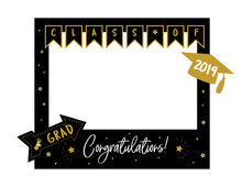 Photo Booth Props Frame For Gr...